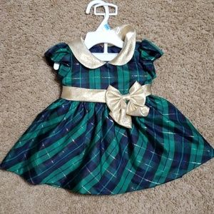 Christmas holiday special occasion dress 6-9 Month